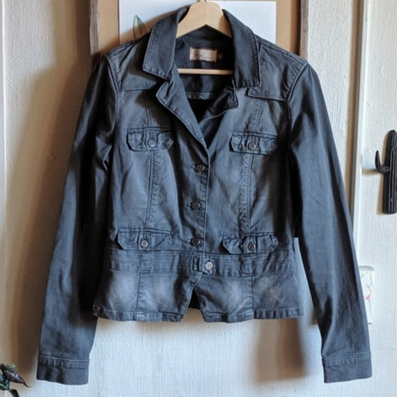PAIGE Jackets & Blazers - PAIGE // gray denim jacket